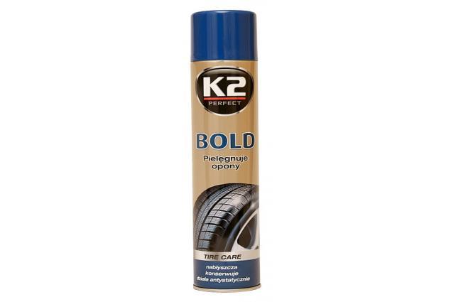 Foto 4 - K2 BOLD 600 ml - pěna na ošetření pneumatik