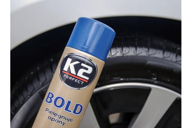 Foto 6 - K2 BOLD 600 ml - pěna na ošetření pneumatik
