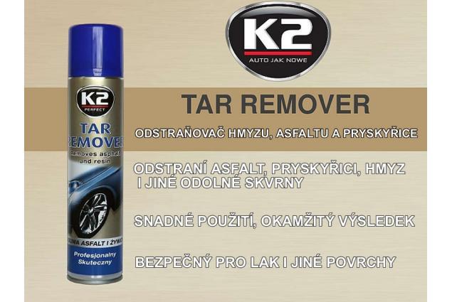 Foto 3 - K2 TAR REMOVER 300 ml - odstraňovač hmyzu, asfaltu a pryskyřice