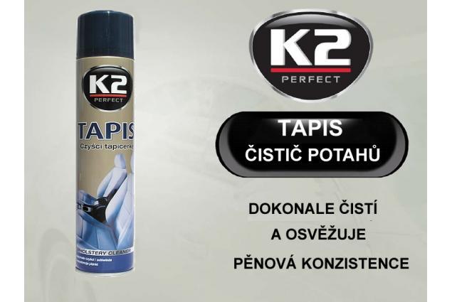Foto 3 - K2 TAPIS 600 ml - pěnový čistič potahů a textilií