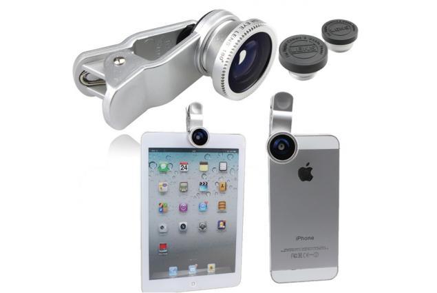Foto 6 - Sada čoček - objektivů k mobilu 3v1