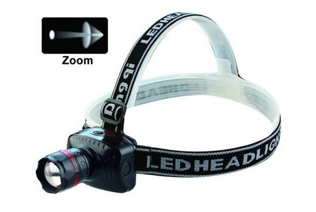 Foto 3 - Silná LED čelovka se ZOOMEM