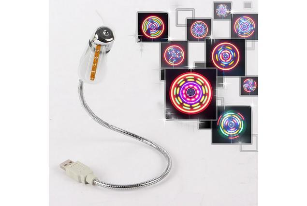 Foto 5 - USB větráček s efekty