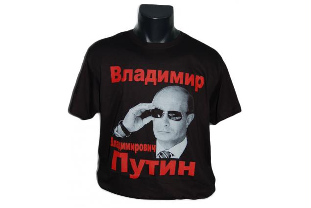 Foto 2 - Tričko s Putinem černé