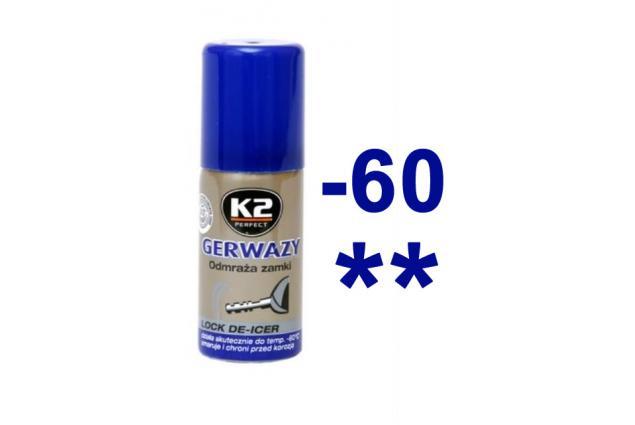 Foto 2 - K2 GERWAZY 50 ml - rozmrazovač zámků