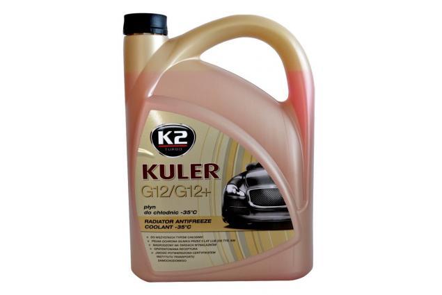 Foto 2 - K2 KULER G12/G12+ 5 l - nemrznoucí kapalina do chladiče do -35 °C
