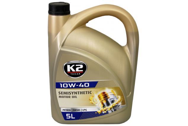 Foto 2 - K2 10W-40 BENZIN, DIESEL, LPG 5 l - motorový olej