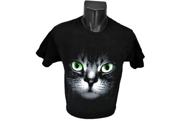 Foto 2 - Tričko kočka s očima