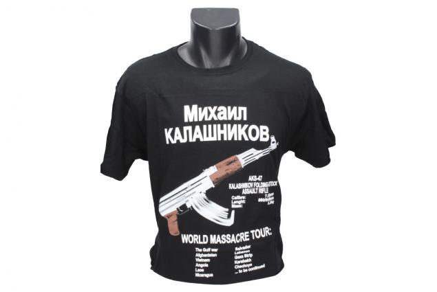 Foto 2 - Tričko kalašnikov