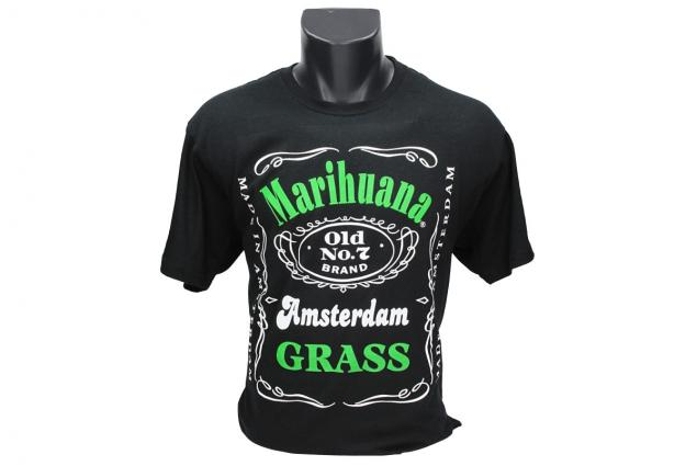 Foto 2 - Tričko Marihuana Amsterdam Grass