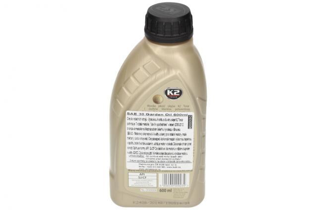 Foto 3 - K 2 SAE 30 600 ml - zahradní olej