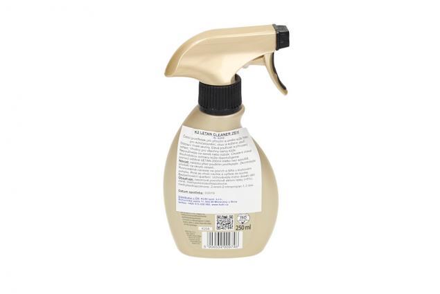 Foto 3 - K2 LETAN CLEANER 250 ml - čistič kůže