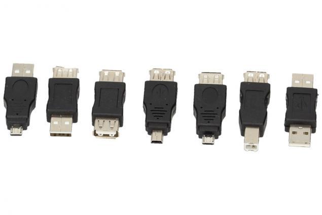 Foto 2 - USB redukce sada 7 kusů