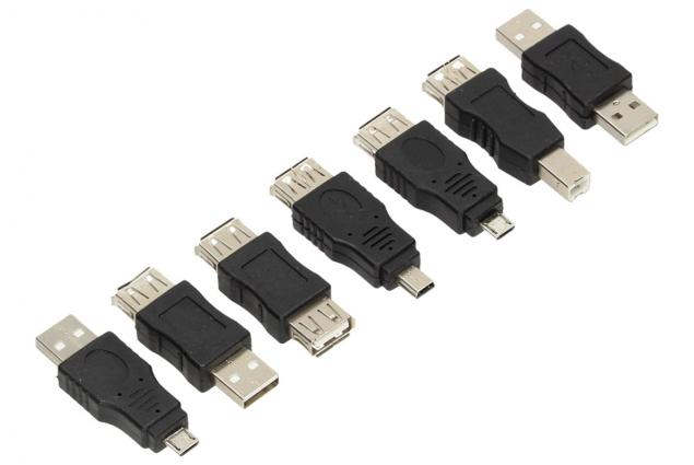 Foto 3 - USB redukce sada 7 kusů
