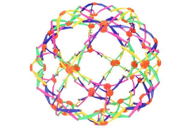 Foto 4 - Skládací míč barevný velký