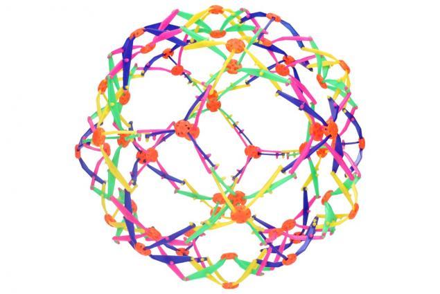 Foto 5 - Skládací míč barevný velký