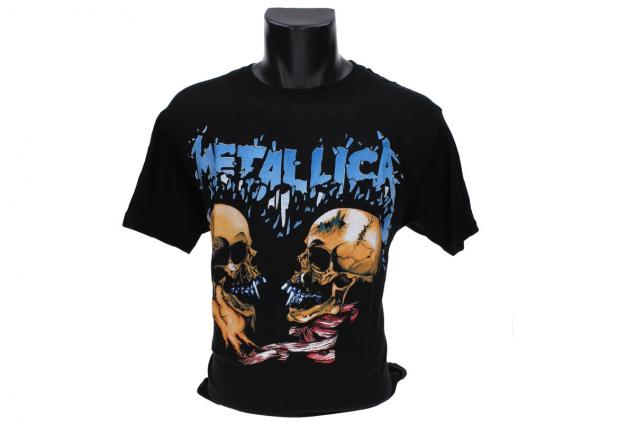Foto 2 - Tričko Metallica, modrý nápis