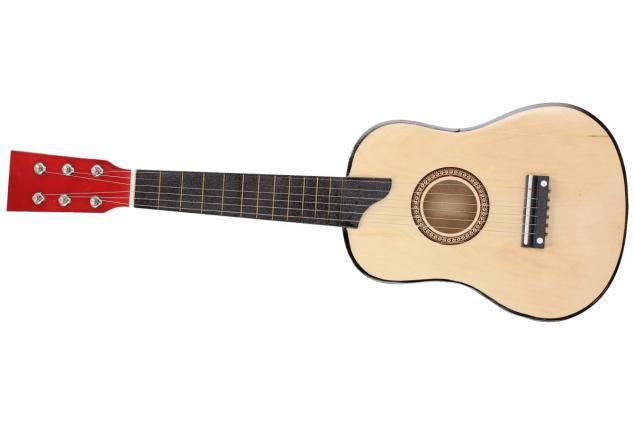 Foto 4 - Kytara dřevěná, lakovaná 58 cm