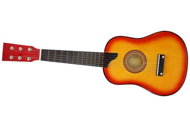 Foto 6 - Kytara dřevěná, lakovaná 58 cm