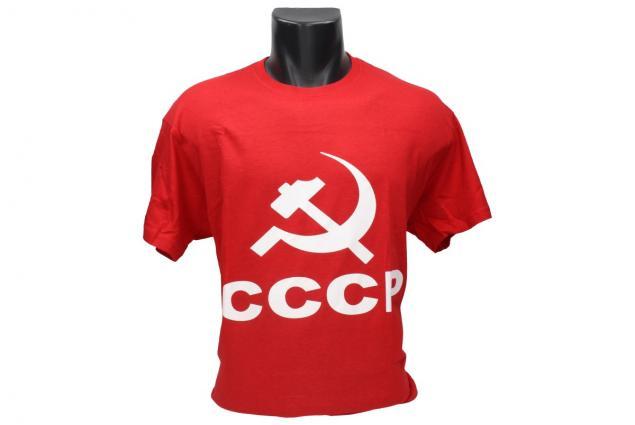 Foto 2 - Tričko CCCP červené