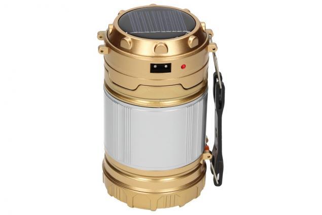 Foto 2 - Lampa pro kemping Profi + solární nabíječka 2v1