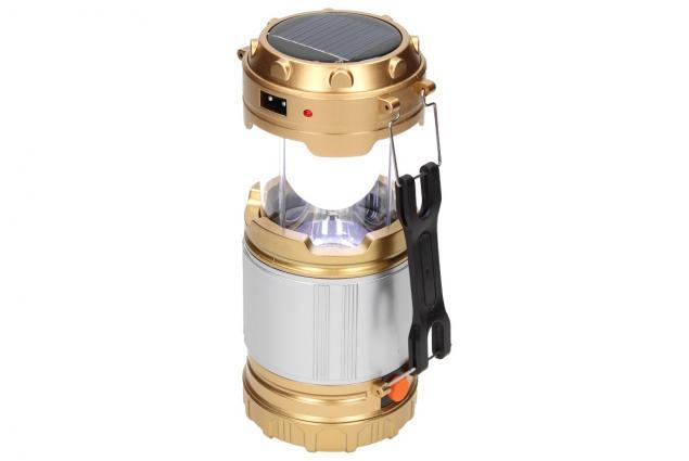 Foto 4 - Lampa pro kemping Profi + solární nabíječka 2v1