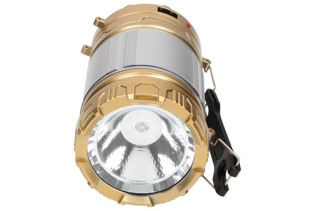 Foto 6 - Lampa pro kemping Profi + solární nabíječka 2v1