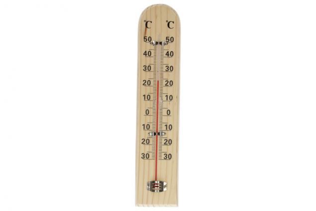 Foto 3 - Teploměr dřevěný malý