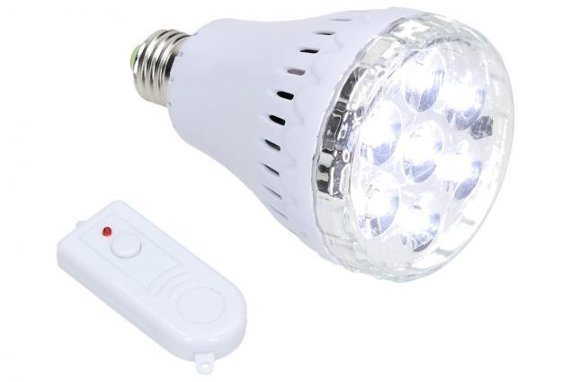 Foto 2 - Žárovka na dálkové ovládání 7 LED JL-718-2