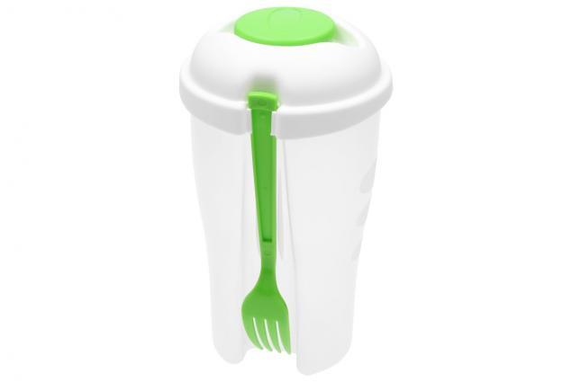 Foto 5 - Dóza na salát s vidličkou