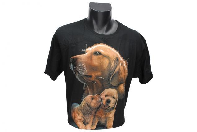 Foto 2 - Tričko hnědí psi