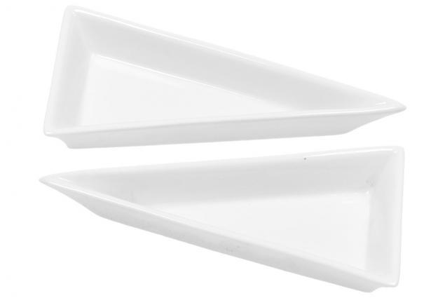 Foto 2 - Porcelánová miska trojúhelník 2 kusy