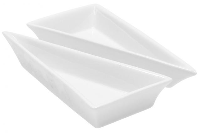 Foto 4 - Porcelánová miska trojúhelník 2 kusy