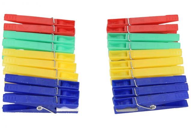 Foto 2 - Kolíčky na prádlo 20 ks plast