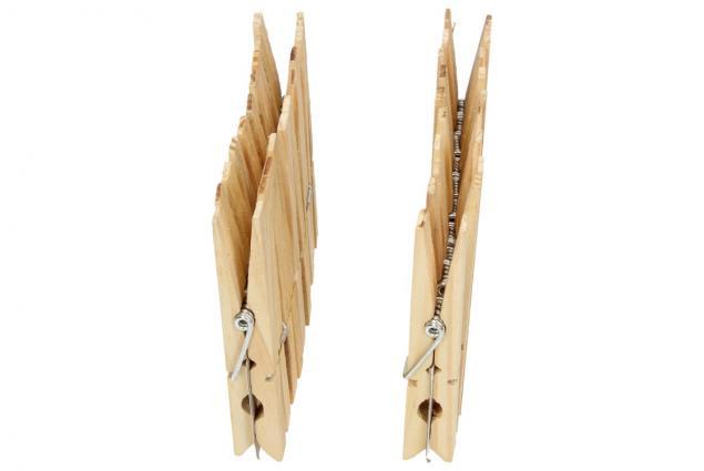 Foto 4 - Kolíček dřevěný 20 kusů Klasik