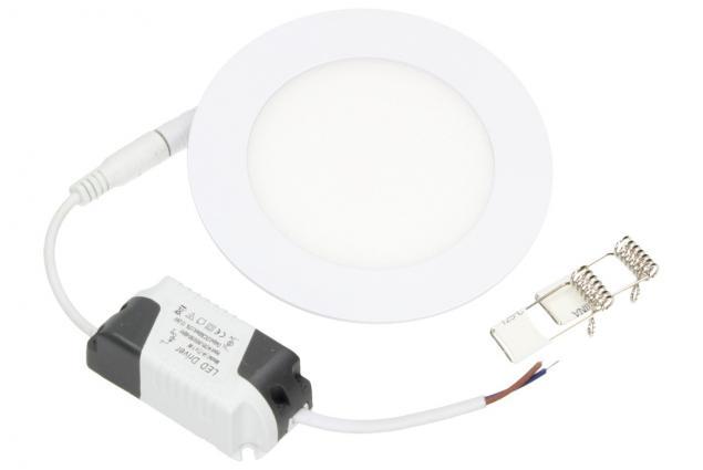 Foto 2 - LED stropní panel zápustný 6W kulatý