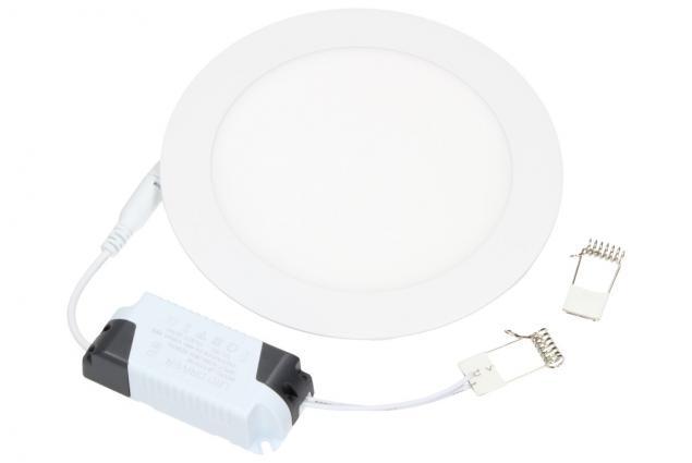 Foto 2 - LED stropní panel zápustný 12W kulatý