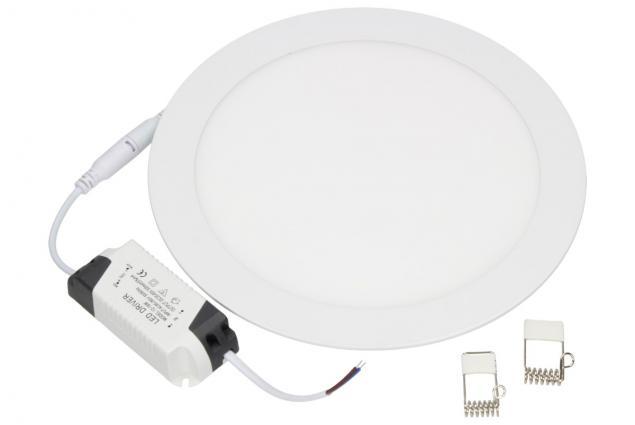 Foto 2 - LED stropní panel zápustný 18W kulatý