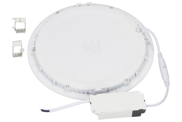 Foto 3 - LED stropní panel zápustný 18W kulatý