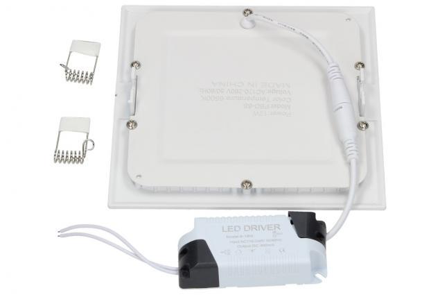 Foto 3 - LED stropní panel zápustný 12W čtverec
