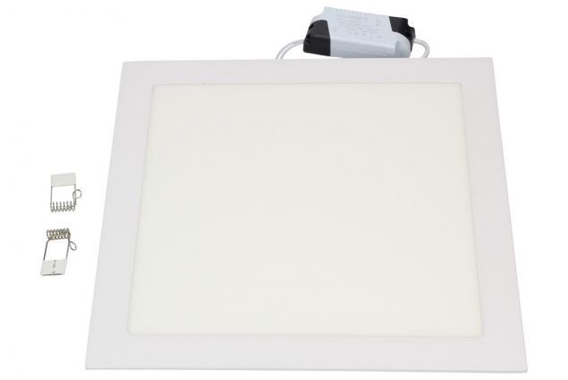 Foto 2 - Stropní panel 24w hranatý zápustný čtverec