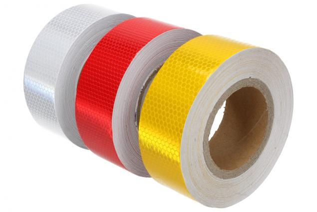 Foto 2 - Reflexní lepící páska 25m barevná