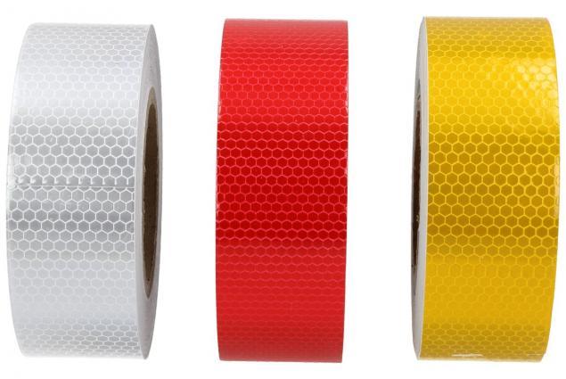 Foto 3 - Reflexní lepící páska 25m barevná