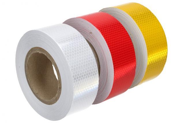 Foto 4 - Reflexní lepící páska 25m barevná