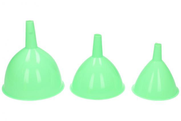 Foto 3 - Trychtýře sada 3 kusy plast