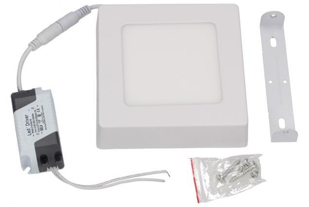 Foto 2 - LED stropní panel 6W nezápustný čtvercový