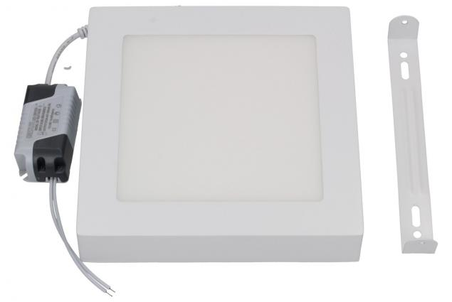 Foto 2 - LED stropní panel 12W nezápustný čtvercový