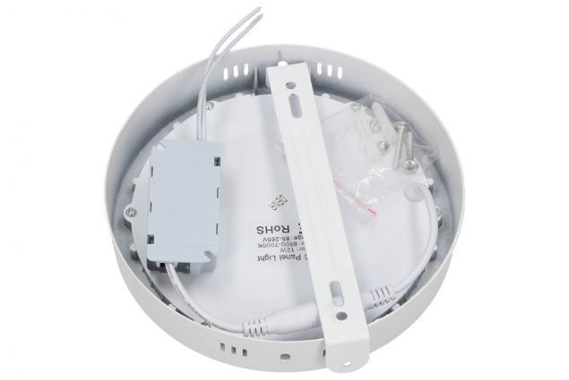 Foto 3 - LED stropní panel 12W nezápustný kulatý