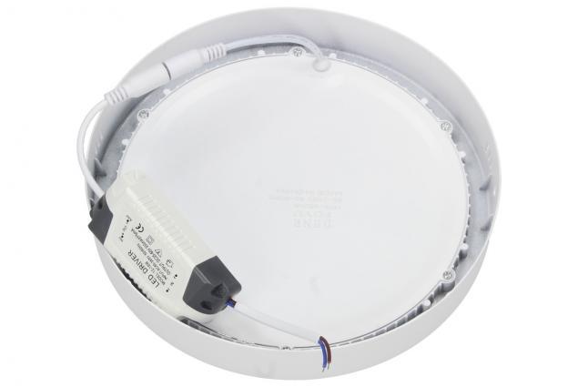 Foto 3 - LED stropní panel 18W nezápustný kulatý
