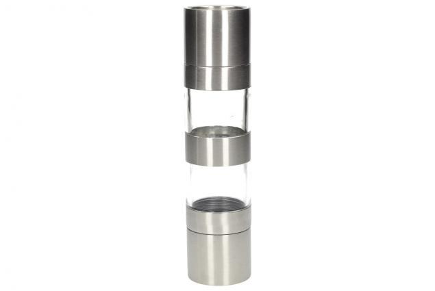 Foto 4 - Mechanický mlýnek na pepř a sůl 2v1 nerez